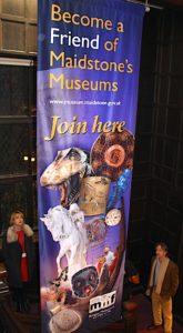 Maidsytone Museums Friends Banner