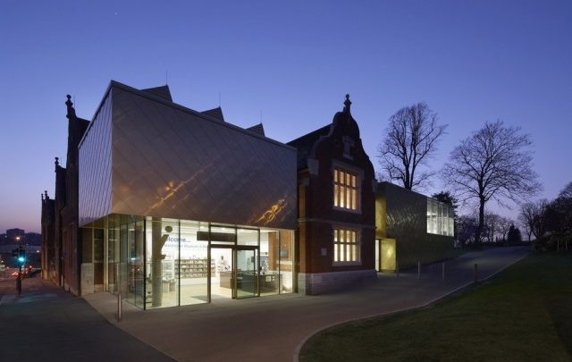 Maidstone Museum, East Wing at Night