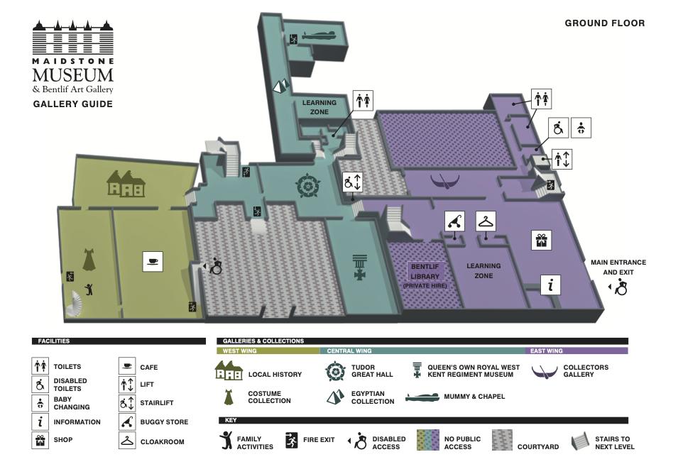 MMF Digitisation Maidstone Museum Floor Plan