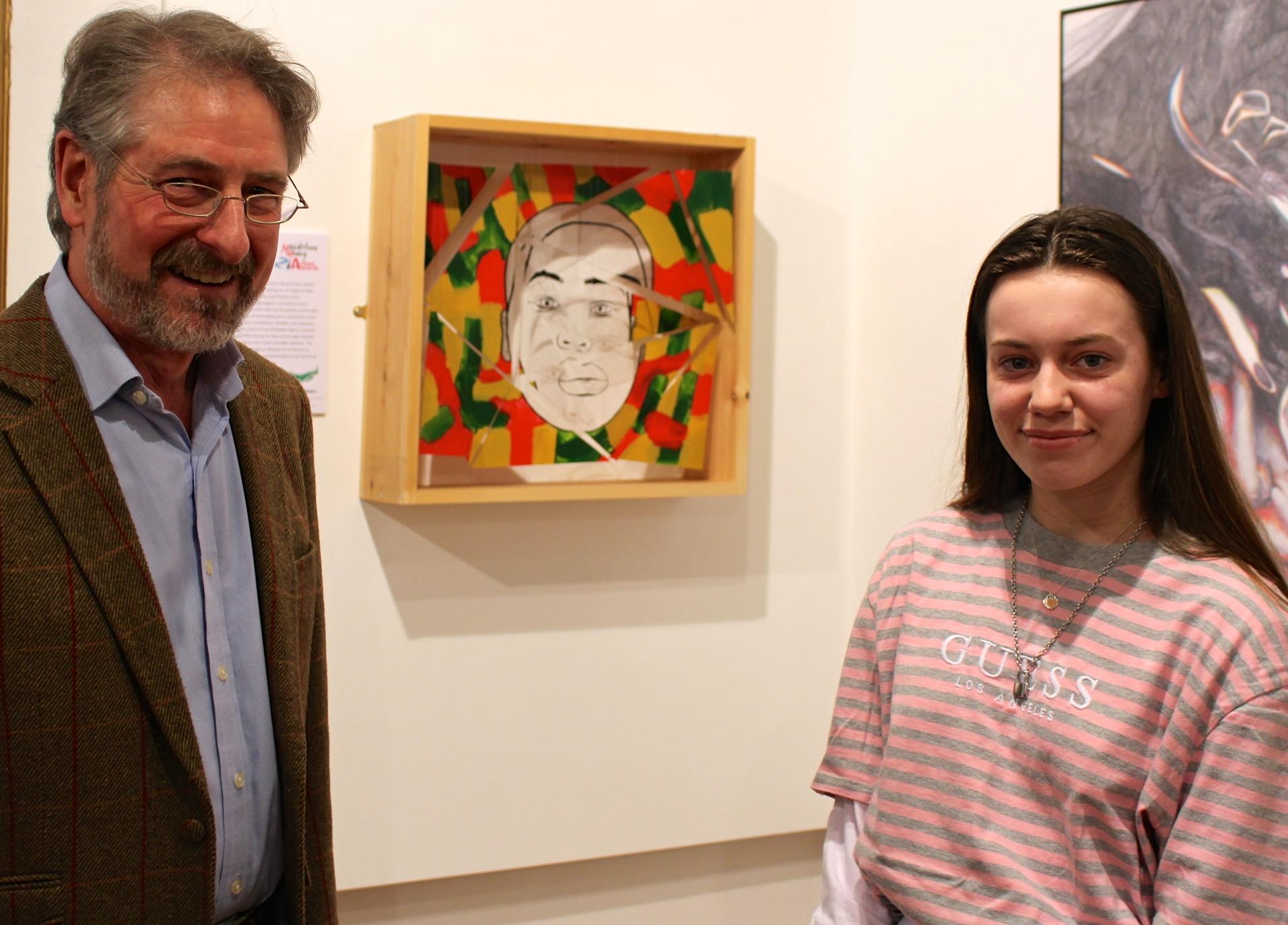 Maidstone Young Artist Award 2019 Winner Rose Watson