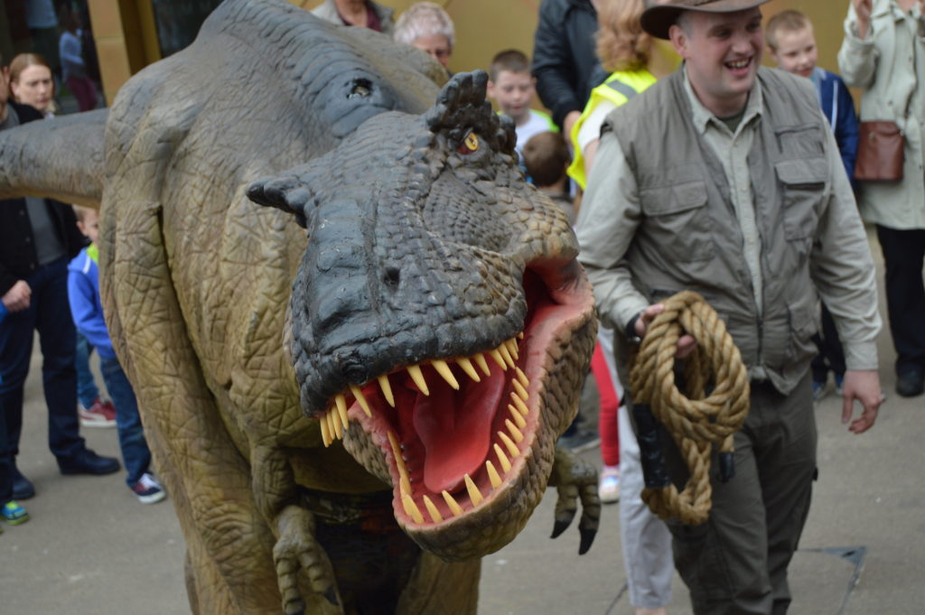 Maidstone Museum Event - Dinosaur Walk