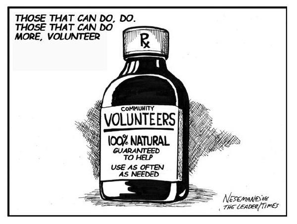 MMF Volunteers - Cartoon
